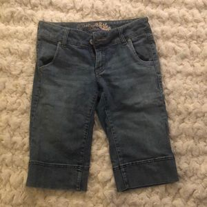 Denim burmuda shorts by Refuge